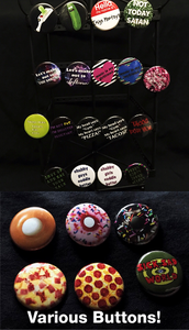 Image of Various Buttons
