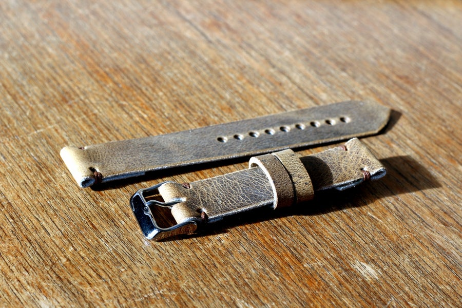 Image of Two Piece Watch Strap in Folklore Vintage