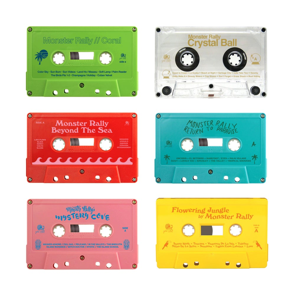 Image of Monster Rally Tapes