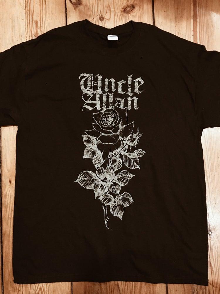 Image of Black rose shirt