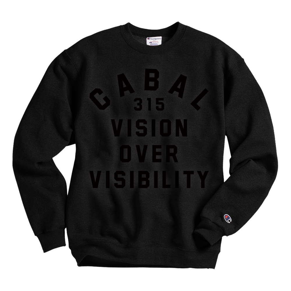 Image of Vision Over Visibility Crewneck Sweatshirt