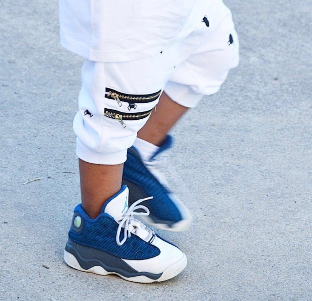 Image of Rocket Zipper Harem Shorts