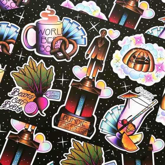 Image of 'Bears, Beets, Battlestar Galactica' Print