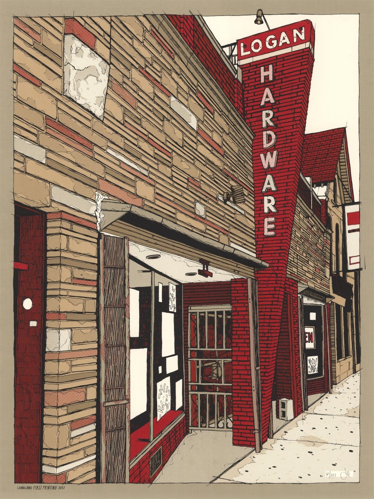 "Image of ""Untitled (Logan Hardware, Chicago)"" •Limited Edition Art Print (sizes vary)"