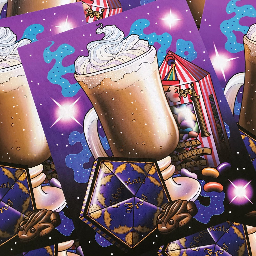 Image of 'Wizard Treats' Print