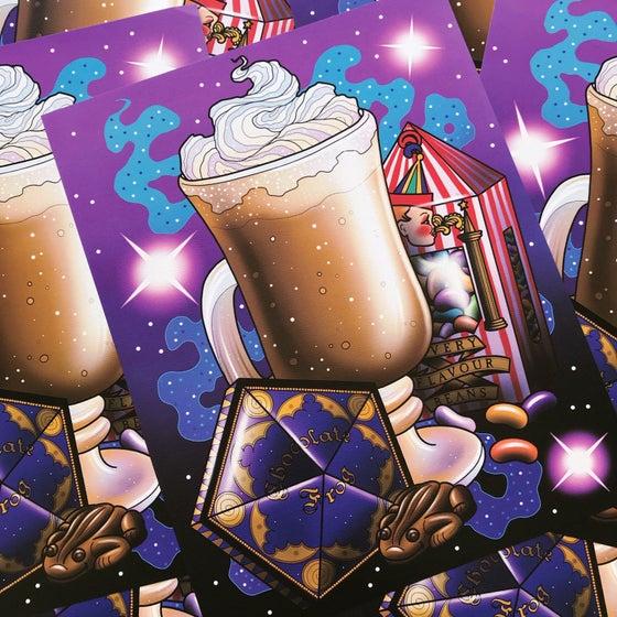Image of 'Wizard Treats' Print