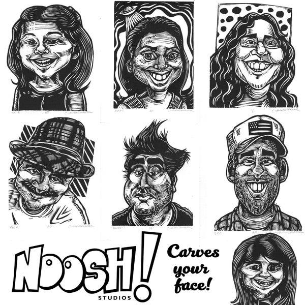 Image of Black Friday - Noosh! Carves YOU!