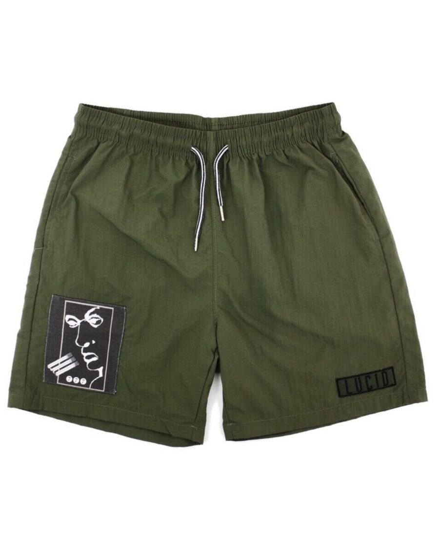 Image of VISION SHORTS (MILITIA GREEN)