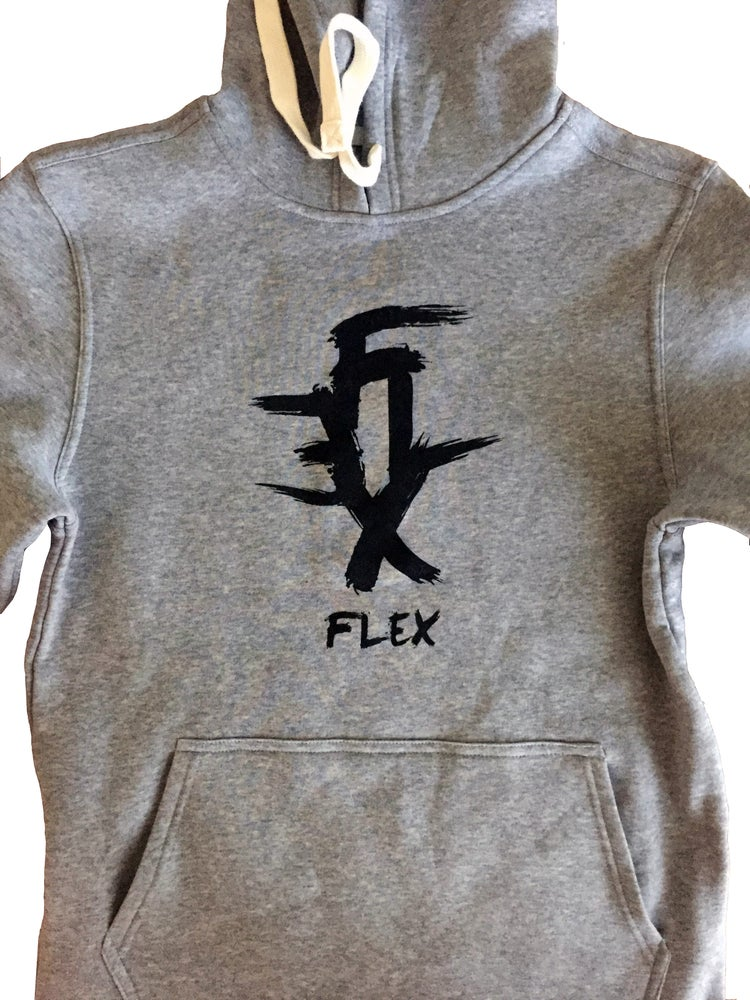 Image of Flex side zipper hoodie