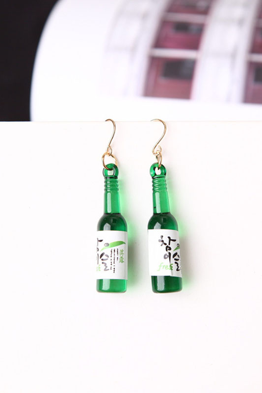 Image of SOJU BOOZE EARRINGS