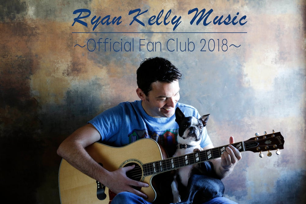 Image of Ryan Kelly Official Fan Club Membership - 2018