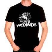 "Image of T-SHIRT MASCARADE ""hip-hop de rockers"""