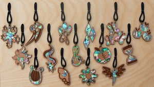 Image of Shell Inlay Necklaces