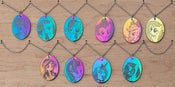 Image of Hematite Pendants on steel chain