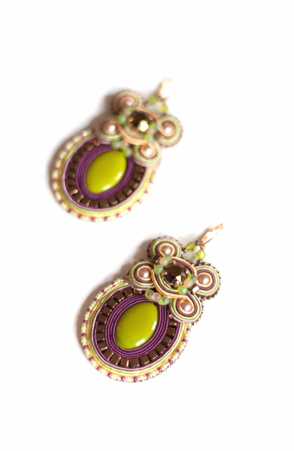Image of Holly Earrings - The Black Witch