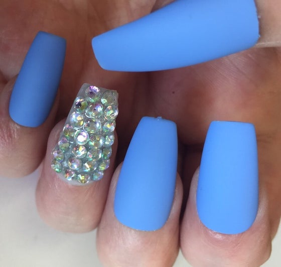 Image of Matte Blue Crystal