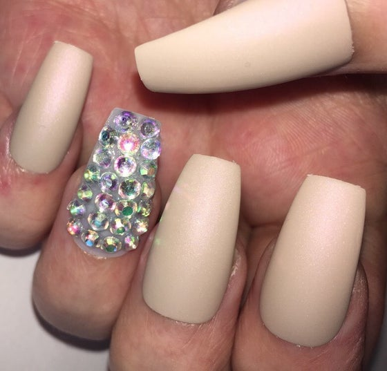 Image of Matte Nude Crystal