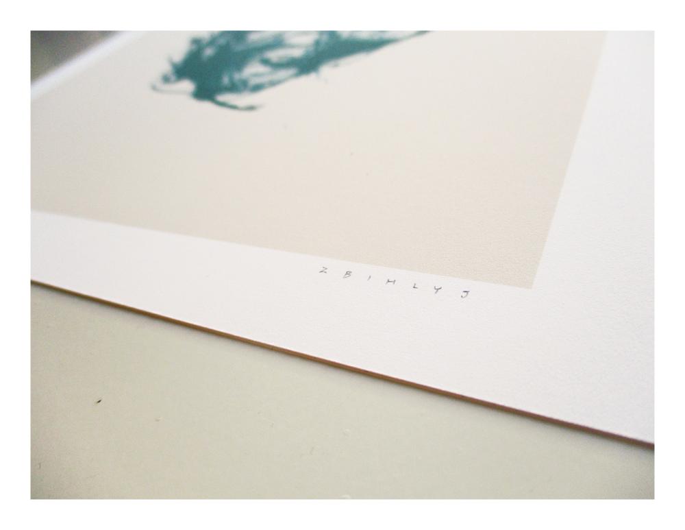 Image of Blue Flower Mini Print