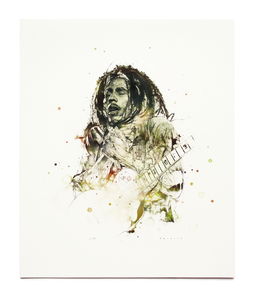 Image of Bob Mini Print