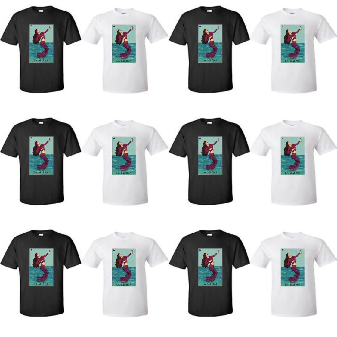 """Image of """"LA SELENAS"""" t-shirt"""