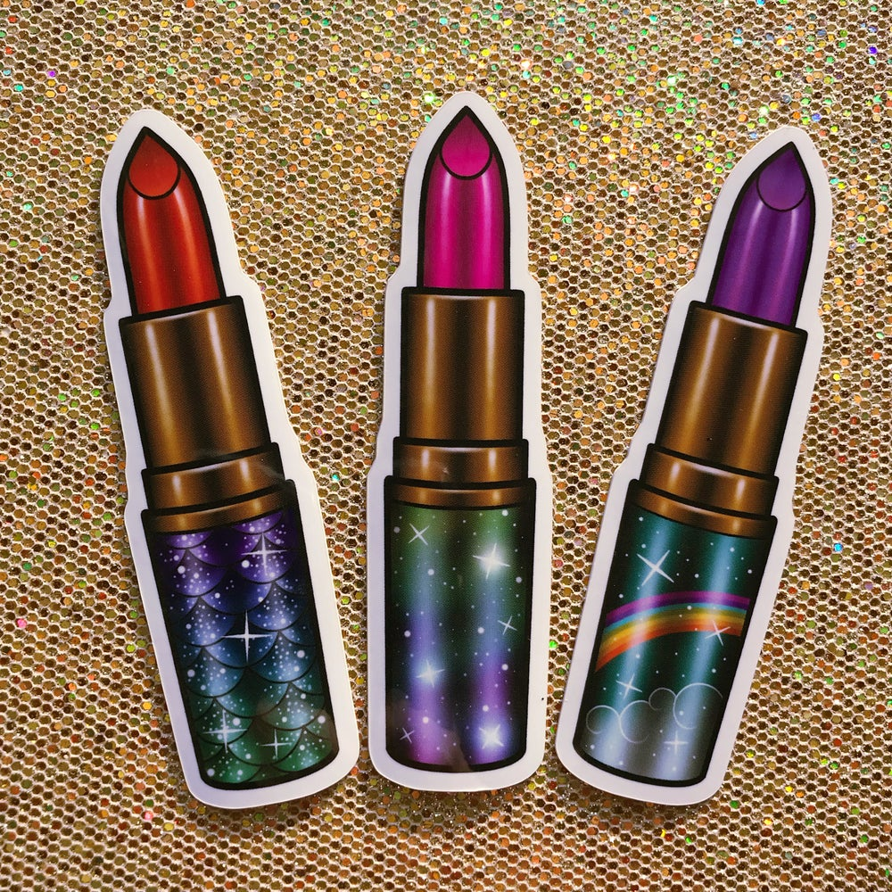 Image of Lipstick Sticker Pack