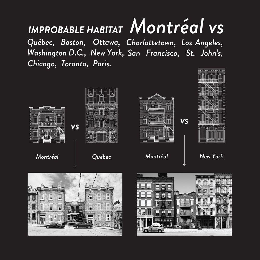 Image of IMPROBABLE HABITAT - MTL VS - DEMI