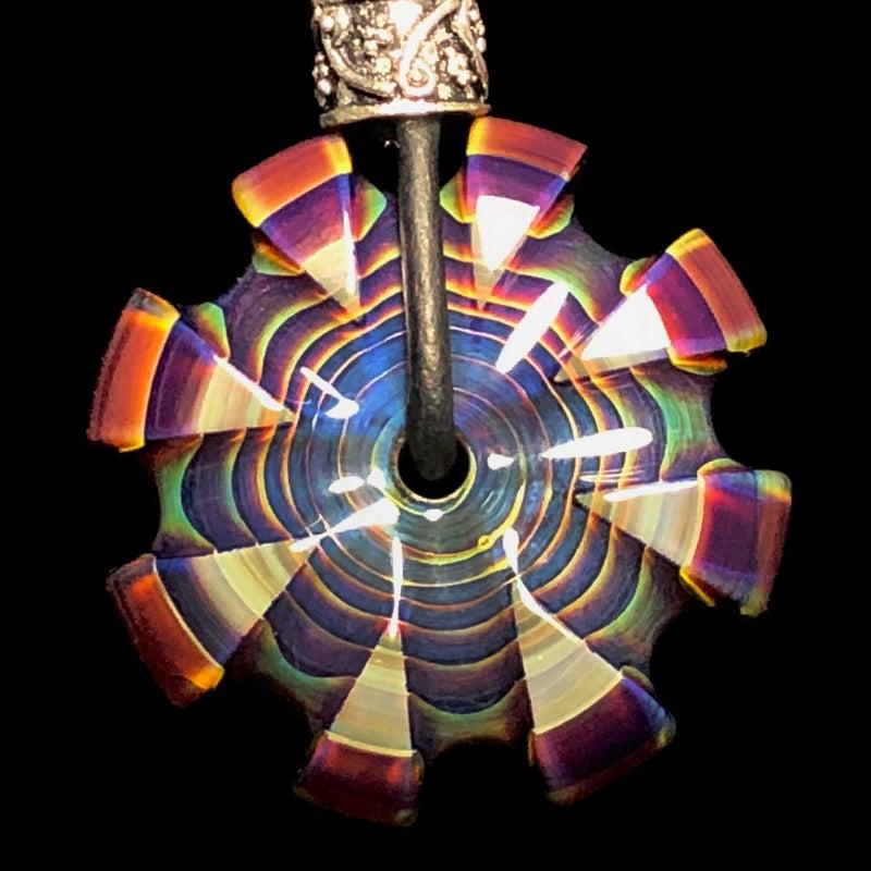 Image of MADE TO ORDER - U-Carved Amber Purple CarverGem