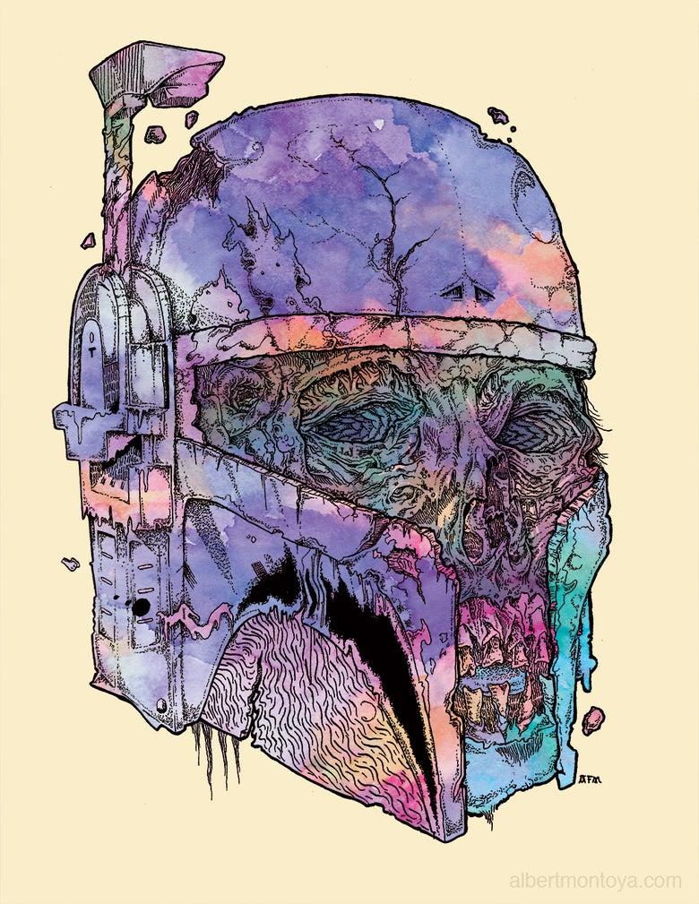 Image of Print - Undead Fett