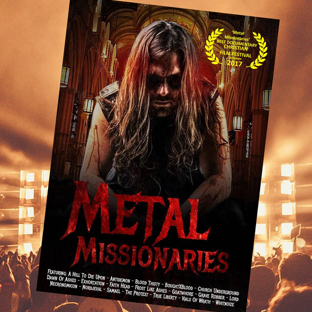 Image of METAL MISSIONARIES DVD
