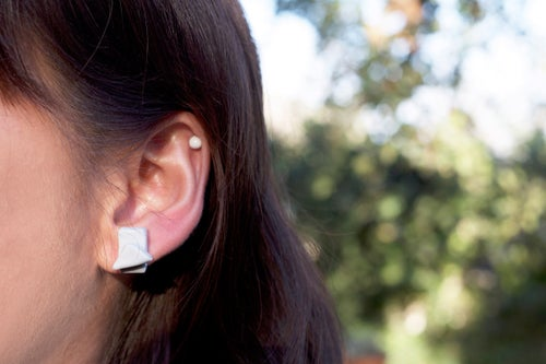Image of abstract earring