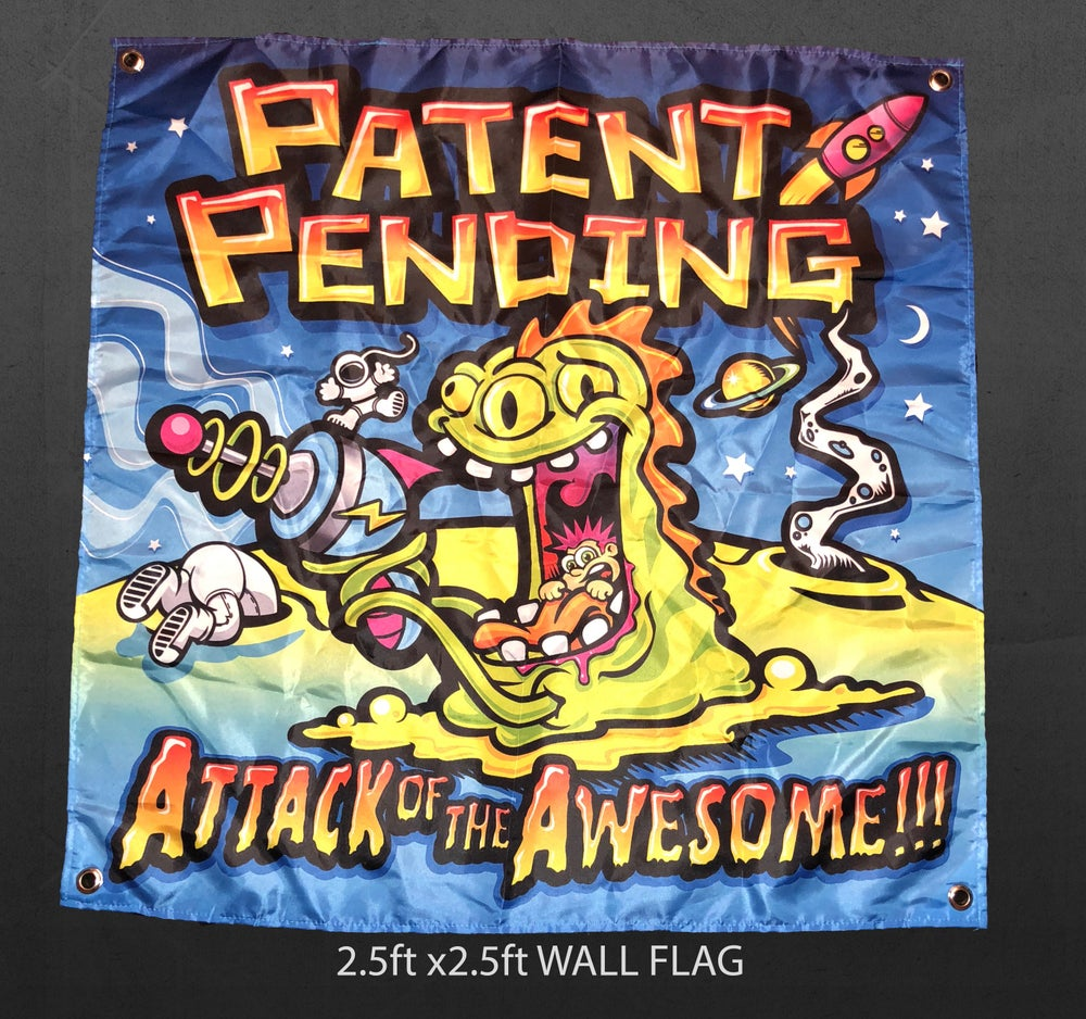 Image of ATTACK OF THE AWESOME FLAG