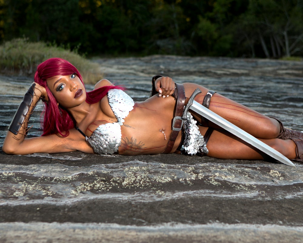 Image of Red Sonja (8 x 10 Signed Print)