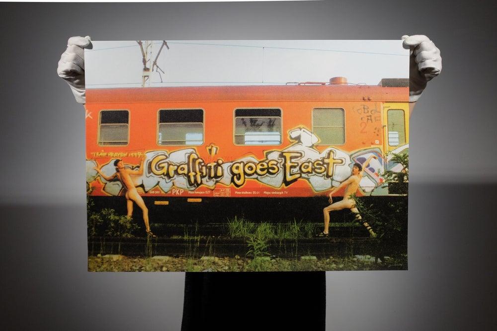 """Image of """"GRAFFITI GOES EAST """"Steak & Kobolt (CAF)"""