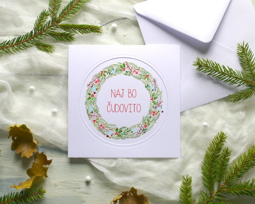 Image of Holiday greeting cards - set of 5