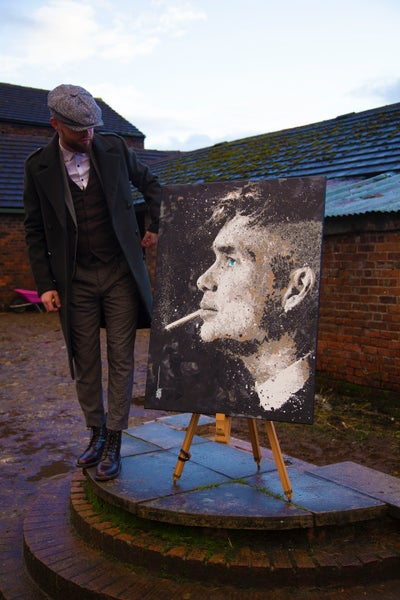 Image of Thomas Shelby (ORIGINAL PAINTING)