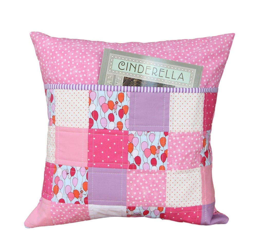 Image of Children at Play Reading Pillow