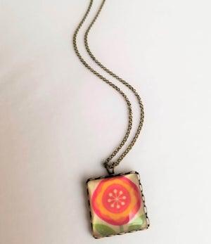 Image of Lollipop Flower Necklace