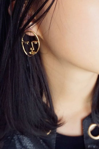 Image of WINK WINK DUDE EARRINGS