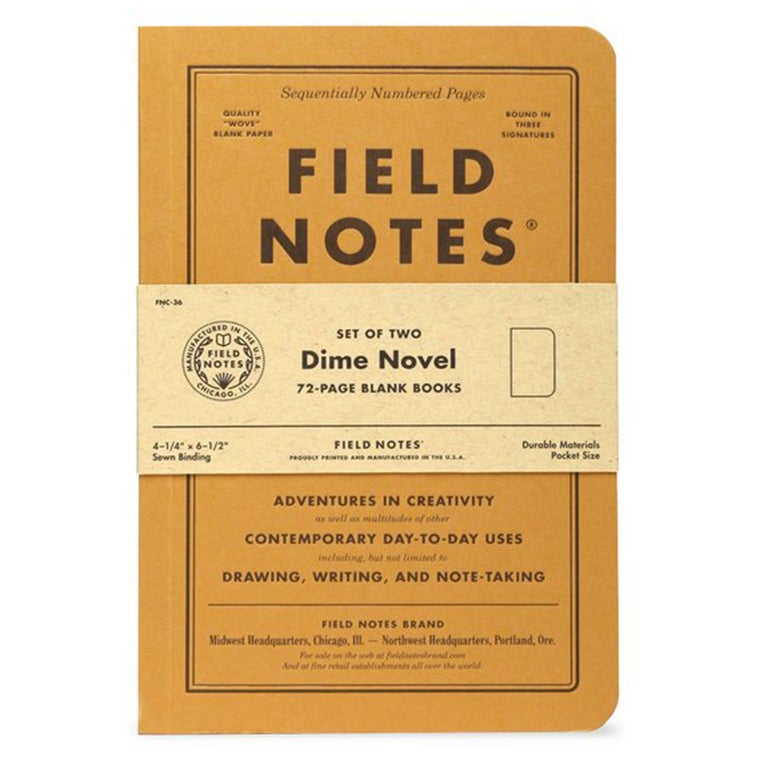 Image of Field Notes - Dime Novel