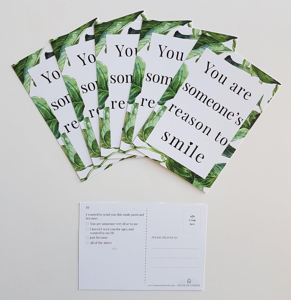 Image of SMILE POSTCARDS (set of 5)