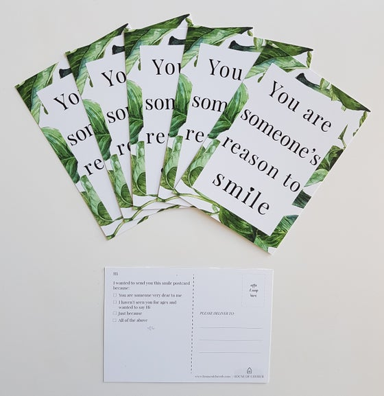 Image of SMILE POSTCARDS (set of 5)