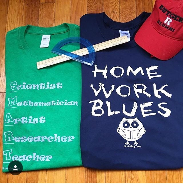 Image of Homework Blues / Smart Career Tee & Sport Bag