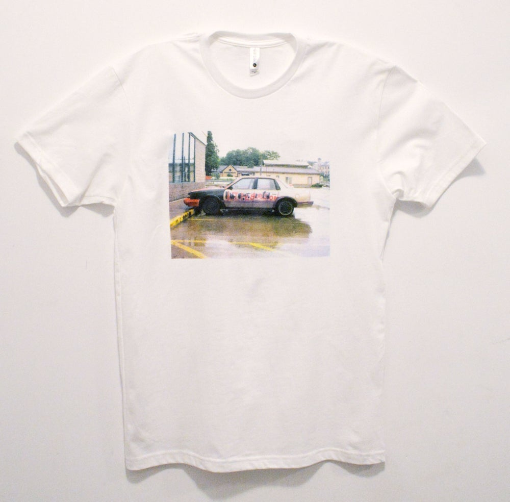 "Image of Hideout – ""Life Goes On"" white tee"