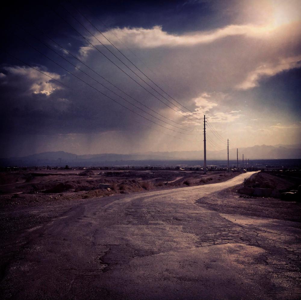 Image of Rain Clouds, Las Vegas, NV. 2017