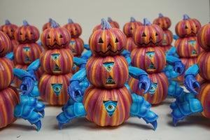 "Image of ""Beneath The Harvest"" Pumpkin Crab - Vinyl Figure"