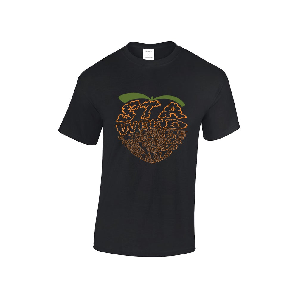 "Image of T-SHIRT ""ULALALA"" BLACK"