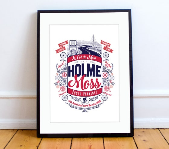 Image of Holme Moss print - A4 or A3