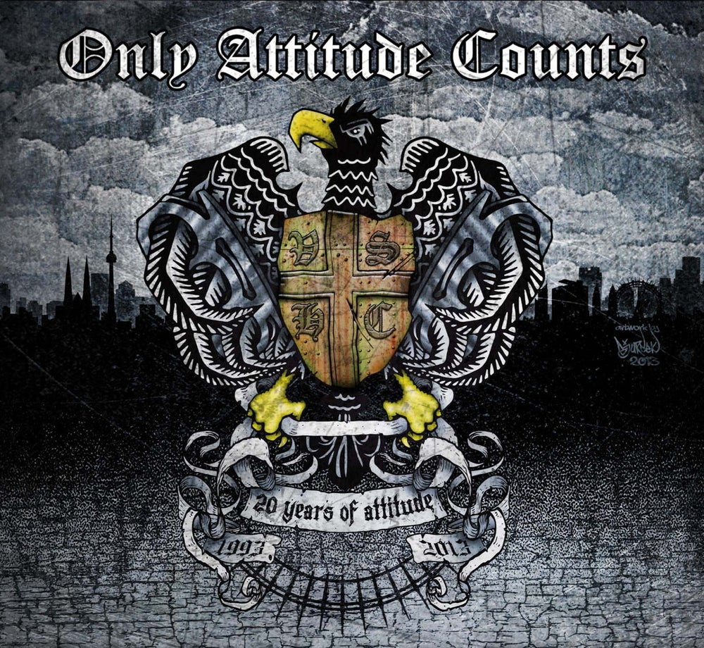 Image of Only Attitude Counts - 20 Years Of Attitude (2 CD) Digipack