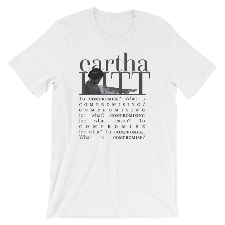 "Image of Eartha Kitt ""Compromise"" Tee"