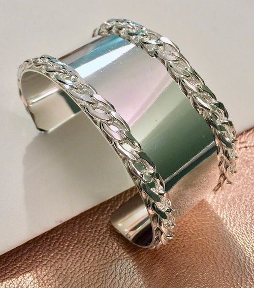 Image of Double Chain Cuff (More Colors)